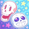 Papyrus and Sans - drop pop candy