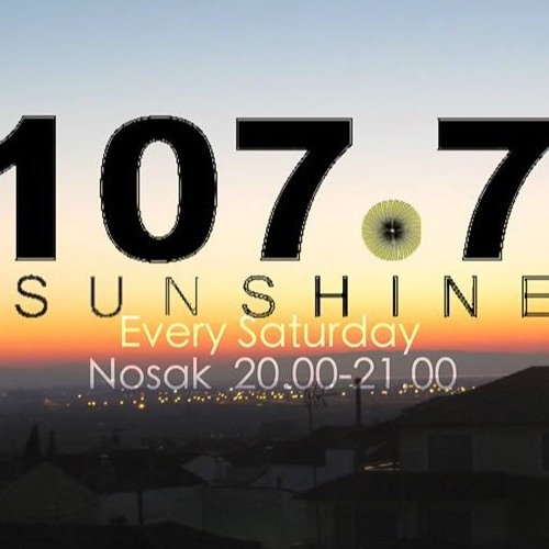 Nosak On Sunshine 107,7 FM Thessaloniki 28 - 11 - 2015