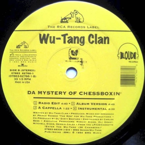 The Mystery of Chessboxing - Wu Tang Clan / remix Dj Splitty