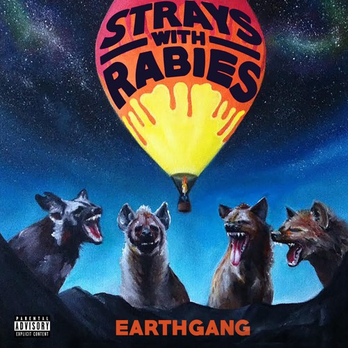 earthgang strays with rabies album