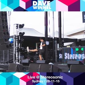 Dave Winnel @ Stereosonic Sydney, NSW, Australia 2015-11-28 Artwork