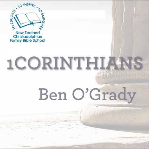 1 Corinthians: Talk 1 Let Him Glory In The Lord