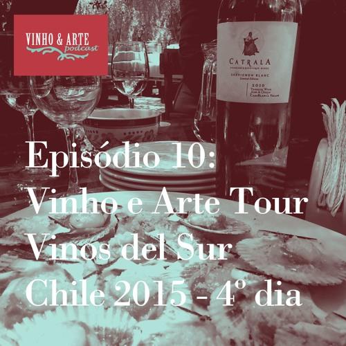 010 - Vinho E Arte Tour - Vinos del Sur - Chile 2015 - dia 4