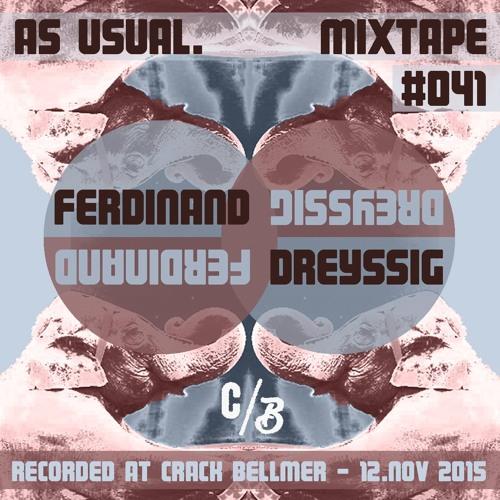 as usual mixtape #041 - Ferdinand Dreyssig at Crack Bellmer / 12. 11. 2015