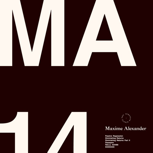 Maxime Alexander - 02 Diminishing Returns