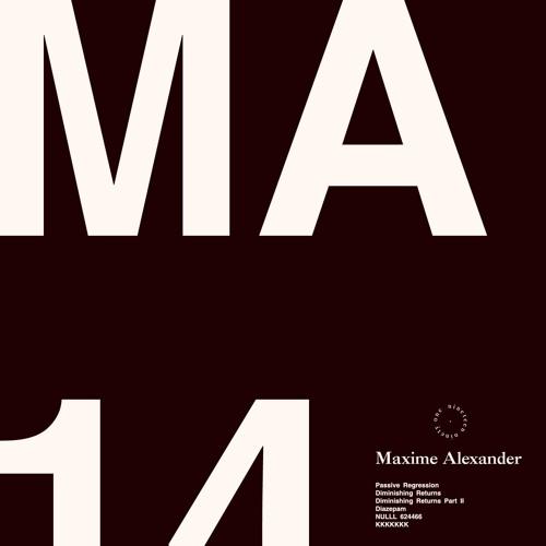 Maxime Alexander - MA14