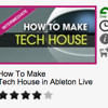 How To Make Tech House In Ableton Live