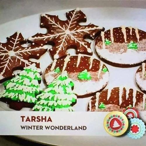 Tarsha Joyner Winner Of Food Network S Christmas Cookie Challenge By