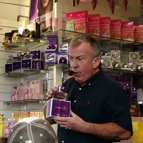 Perfume seller, Oxford Street