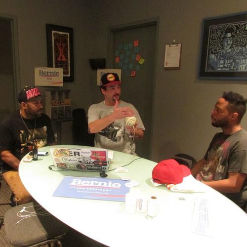 Hip Hop for Bernie Sanders Podcast 1 with Bun B, Fat Tony & Matt Sonzala