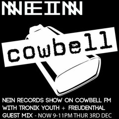 NEIN RECORDS RADIO SHOW -TRONIK YOUTH AND FREUDENTHAL GUEST MIX DEC 3RD
