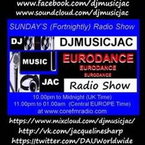 DJMUSICJAC techno euro radio show podcast 17th may 2013, CORE FM, VOL 15