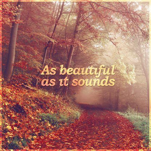 As Beautiful As It Sounds
