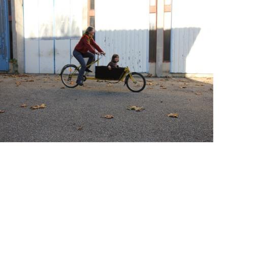 Temoignage d'Anais après le test du vélo-cargo