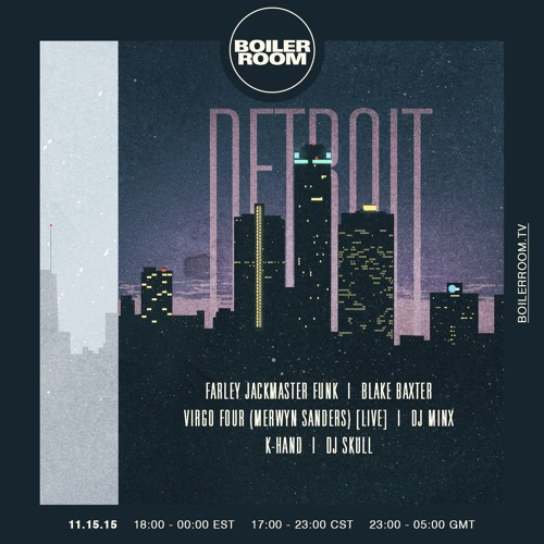 DJ Minx Boiler Room Detroit DJ Set