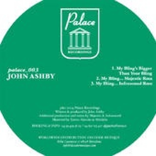John Ashby - My Bling's Bigger Than Your Bling (Majestic Remix)