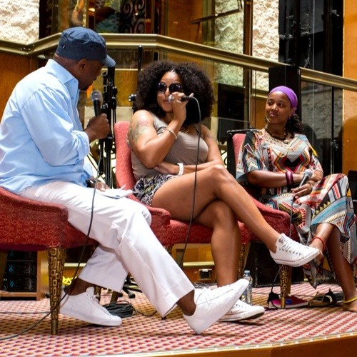 Floetry Interview - Capital Jazz SuperCruise 2015
