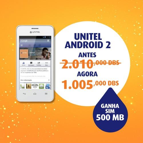 Natal Unitel - Promoção Unitel Android 2