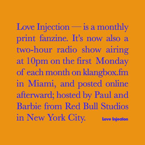 Love Injection Radio 006 Feat. Frankie (Discwoman)