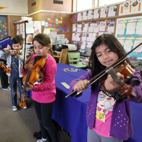 Symphony Brings Music Appreciation To Some Santa Barbara County Elementary Schools With Music Van