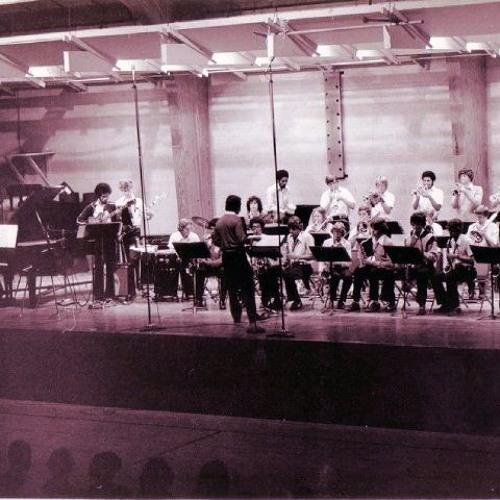 """Interlochen """"Maize"""" Jazz Band - 1979"""