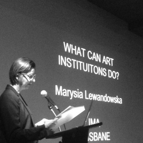 What Can Art Institutions Do?: Marysia Lewandowska