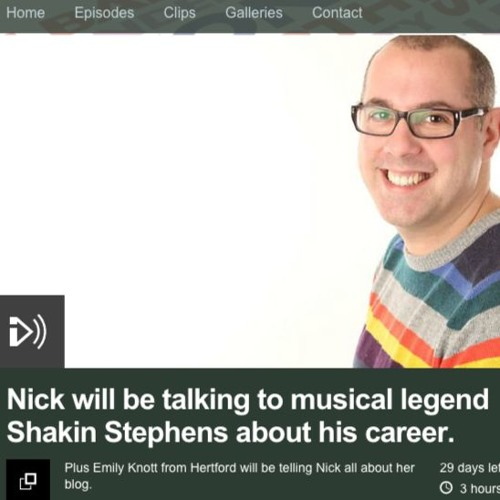 BBC 3CR Nick Coffer interviews Emily Knott (08/12/15)