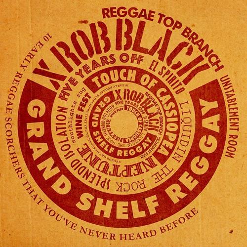 "XRob Black - Grand Shelf Reggay (album Promomix)(12"" vinyl / LP)"