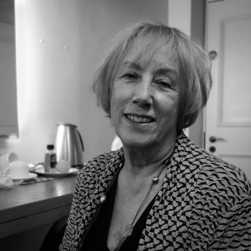 Norma Winstone backstage at the London Jazz Fest