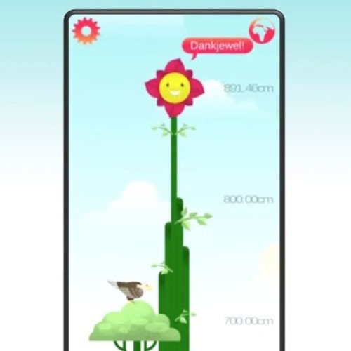 E-SOL App - Sad Polluted Flower