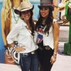 #CowgirlUnplugged: Cowgirl Style with Charlie 1 Horse at Wrangler National Finals Rodeo - Las Vegas, Nevada
