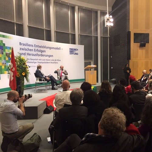 Lula da Silva, ehemaliger Präsident Brasiliens, in Berlin: Beitrag in NDRInfo am 10.12.15