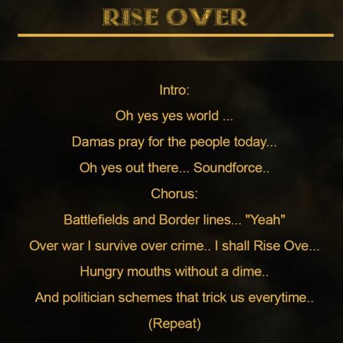 Damas - Rise Over