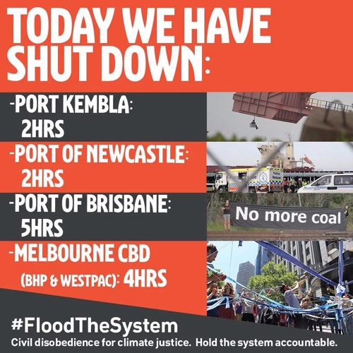 Flood the System, Civil Disobedience for Climate Justice