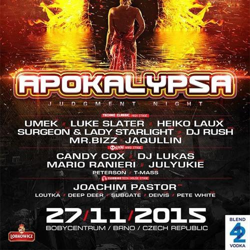 Apokalypsa 40 Judgement Night @ Bobycentrum Brno, Czech Republic 27.11.2015