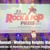 Wuthering Heights (Kate Bush Cover) LIVE @ 33. Deutscher Rock & Pop Preis 2015