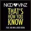That's How You Know - Nico & Vinz ft.Kid Ink & Bebe Rexha