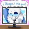 I Like You, I Love You! ft. Sans