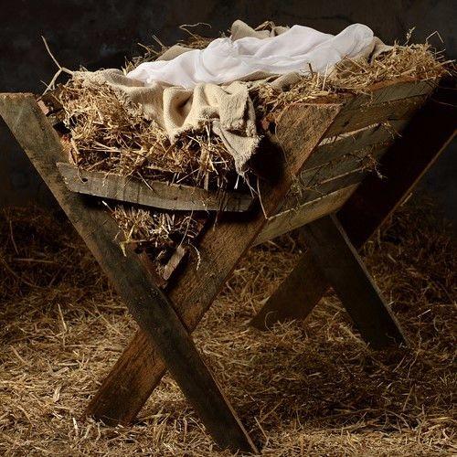 De Kripp es leer - ein Weihnachtsgedicht
