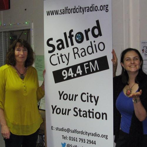 SMILEY QUEEN Salford City Radio Interview