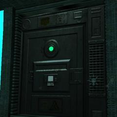 Electronic Door Buzzer Locked (SciFi Level) Unity
