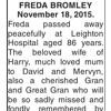 Freda (In memory of Freda Roberts)
