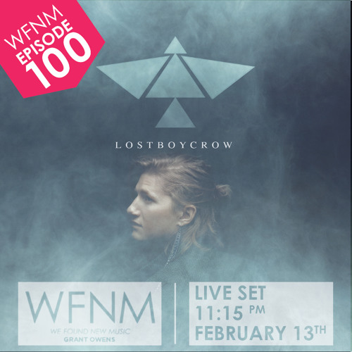 LOSTBOYCROW Radio Performance Debut | 2/19/15 on WE FOUND NEW MUSIC With Grant Owens