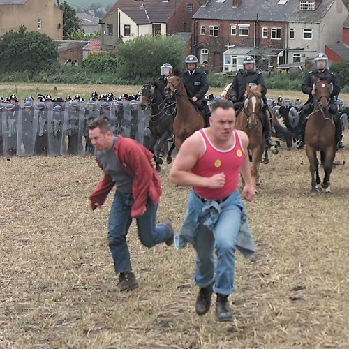 The Battle of Orgreave: Stephanie Gregory Poetry, Chanting