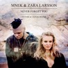 Zara Larsson And Mnek Never Forget You Futosu00e9 And Cajama Remix Buy Free Download Mp3