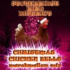 STONEBRIDGE BIRD DISTRICT : CHRISTMAS CHICKEN BELLS (marshmallow mix)