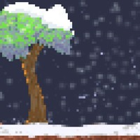 "Cover of Ludum Dare #34 - ""Keep Growing"" - Winter Theme"