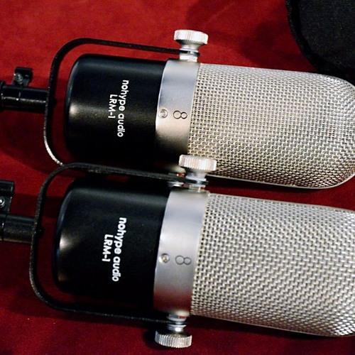 No Hype Audio lrm-1 ribbon mikes