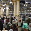 Fajr Adhan at Masjid e Nabwi on 20.12.15 @ 05.40 am