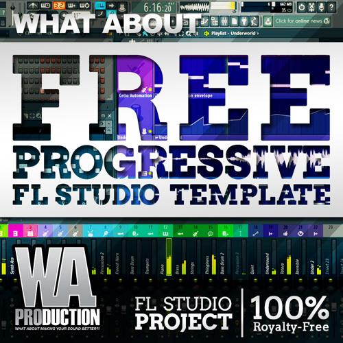 Free FL Studio Progressive Template [FL Studio Project, Samples